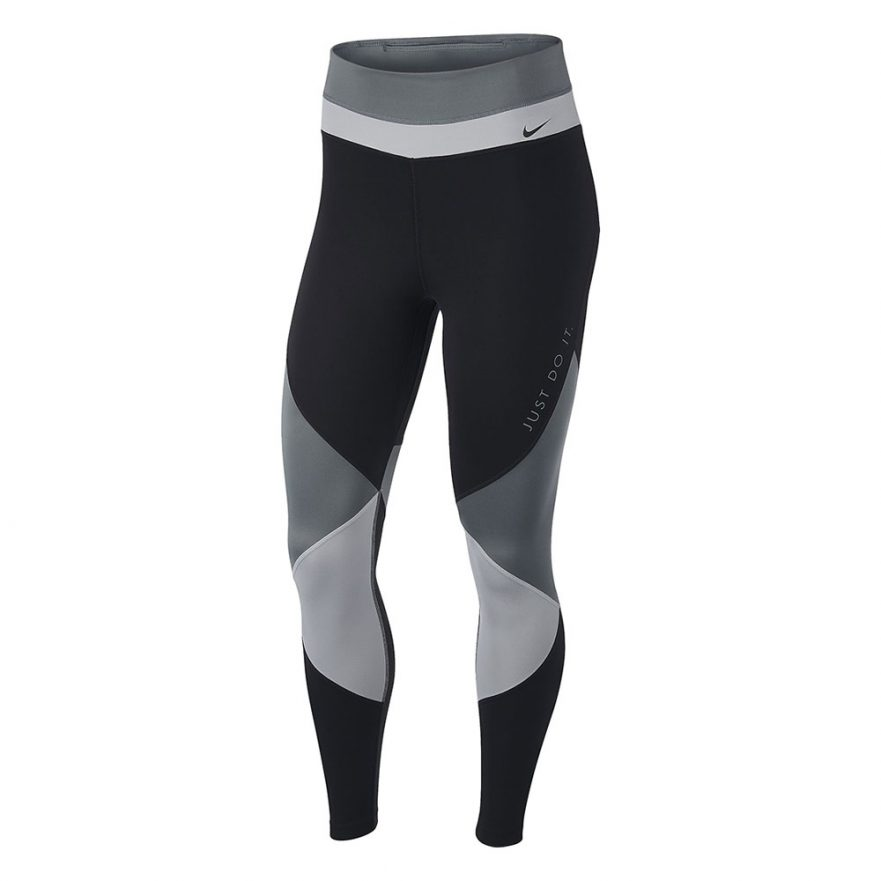 Nike One 7/8 tight dames zwart/grijs